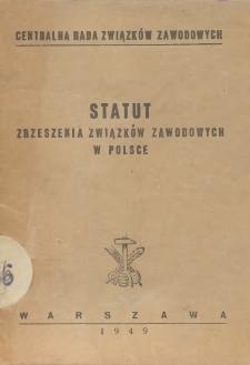 Statut Zrzeszenia Związków Zawodowych w Polsce