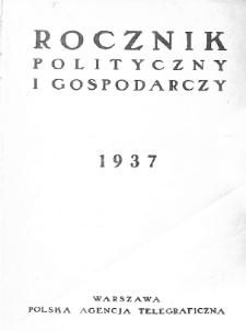 Rocznik polityczny i gospodarczy : 1937