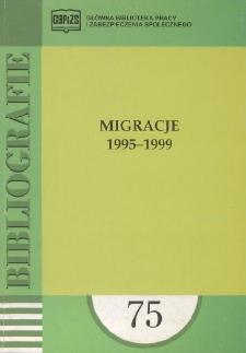 Migracje : 1995-1999 : (literatura polska i obca w wyborze)