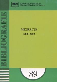 Migracje : 2000-2002 : (literatura polska i obca w wyborze)