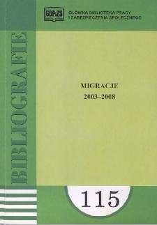 Migracje : 2003-2008 : (literatura polska i obca w wyborze)