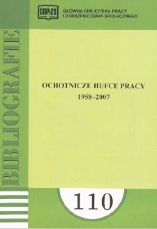 Ochotnicze Hufce Pracy : 1958-2007 : (literatura polska i obca w wyborze)