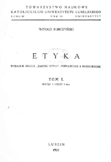 Etyka. T. 1-3