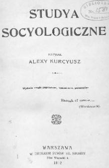 Studya socyologiczne