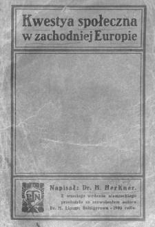 Kwestya społeczna w zachodniej Europie