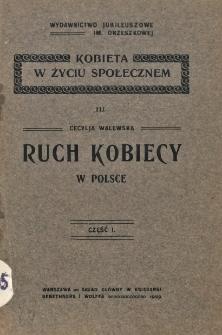 Ruch kobiecy w Polsce. Cz. 1