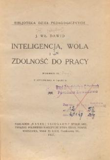 Inteligencja, wola i zdolność do pracy