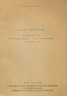 Zbiór orzeczeń Trybunału Ubezpieczeń Społecznych z 1962 r. R. 16