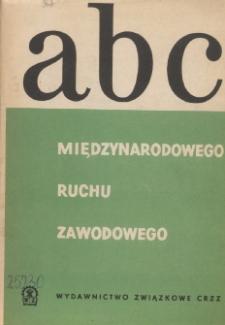 ABC międzynarodowego ruchu zawodowego