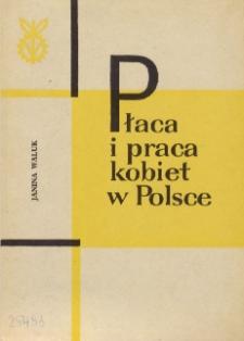 Płaca i praca kobiet w Polsce