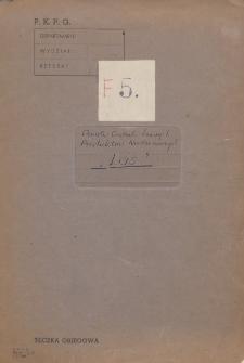 """Układ zbiorowy pracy [dla pracowników przedsiębiorstwa państwowego pod nazwą """"Las"""" Państwowa Centrala Leśnych Produktów Niedrzewnych zawarty w dniu 30 maja 1950 r.]"""