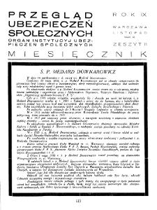 Przegląd Ubezpieczeń Społecznych : 1934, nr 11