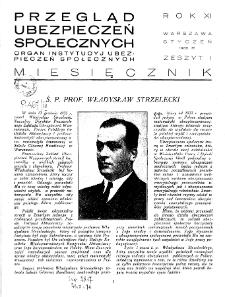 Przegląd Ubezpieczeń Społecznych : 1936, nr 1