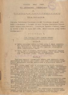 Zbiorowy układ pracy dla pracowników zatrudnionych w Państwowym Przedsiębiorstwie Mierniczym [zawarty w dniu 19 lipca 1949 r.]