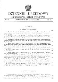 Dziennik Urzędowy Ministerstwa Opieki Społecznej : 1936, nr 12
