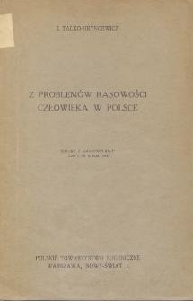 Z problemów rasowości człowieka w Polsce