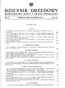 Dziennik Urzędowy Ministerstwa Pracy i Opieki Społecznej : 1947, nr 11