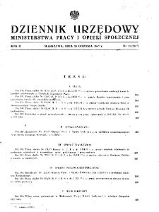 Dziennik Urzędowy Ministerstwa Pracy i Opieki Społecznej : 1947, nr 13