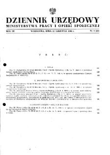 Dziennik Urzędowy Ministerstwa Pracy i Opieki Społecznej : 1948, nr 9