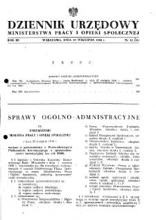 Dziennik Urzędowy Ministerstwa Pracy i Opieki Społecznej : 1948, nr 13