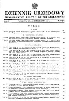 Dziennik Urzędowy Ministerstwa Pracy i Opieki Społecznej : 1949, nr 11