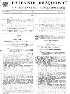 Dziennik Urzędowy Ministerstwa Pracy i Opieki Społecznej : 1950, nr 8