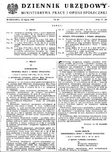 Dziennik Urzędowy Ministerstwa Pracy i Opieki Społecznej : 1950, nr 10