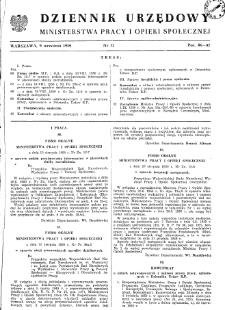 Dziennik Urzędowy Ministerstwa Pracy i Opieki Społecznej : 1950, nr 12