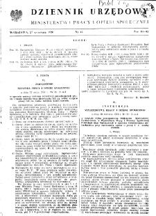 Dziennik Urzędowy Ministerstwa Pracy i Opieki Społecznej : 1950, nr 13