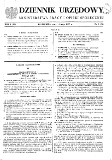 Dziennik Urzędowy Ministerstwa Pracy i Opieki Społecznej : 1957, nr 2