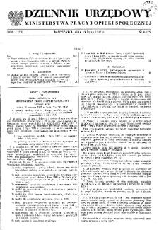 Dziennik Urzędowy Ministerstwa Pracy i Opieki Społecznej : 1957, nr 6