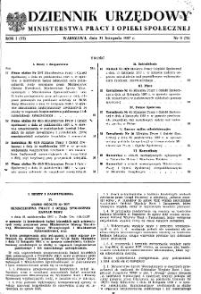 Dziennik Urzędowy Ministerstwa Pracy i Opieki Społecznej : 1957, nr 9