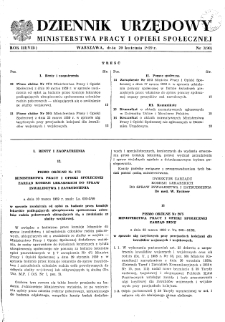Dziennik Urzędowy Ministerstwa Pracy i Opieki Społecznej : 1959, nr 3