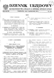 Dziennik Urzędowy Ministerstwa Pracy i Opieki Społecznej : 1959, nr 7