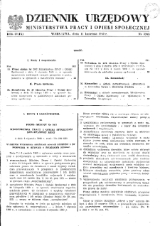 Dziennik Urzędowy Ministerstwa Pracy i Opieki Społecznej : 1960, nr 3