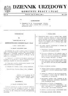 Dziennik Urzędowy Komitetu Pracy i Płac : 1962, nr 4
