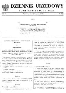 Dziennik Urzędowy Komitetu Pracy i Płac : 1962, nr 6