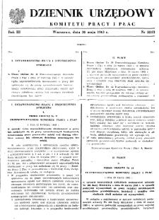 Dziennik Urzędowy Komitetu Pracy i Płac : 1963, nr 2