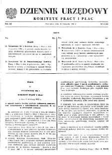 Dziennik Urzędowy Komitetu Pracy i Płac : 1963, nr 4