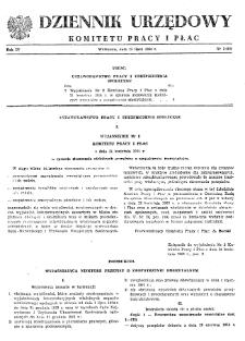 Dziennik Urzędowy Komitetu Pracy i Płac : 1964, nr 2