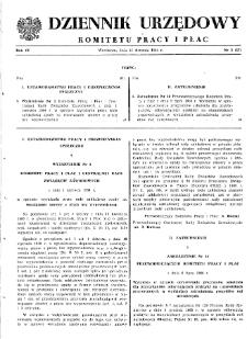 Dziennik Urzędowy Komitetu Pracy i Płac : 1964, nr 3
