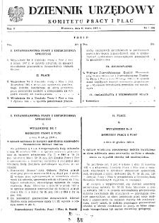 Dziennik Urzędowy Komitetu Pracy i Płac : 1965, nr 1