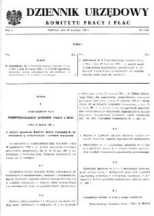 Dziennik Urzędowy Komitetu Pracy i Płac : 1965, nr 2