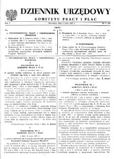 Dziennik Urzędowy Komitetu Pracy i Płac : 1965, nr 3