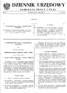 Dziennik Urzędowy Komitetu Pracy i Płac : 1965, nr 4
