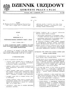 Dziennik Urzędowy Komitetu Pracy i Płac : 1965, nr 5