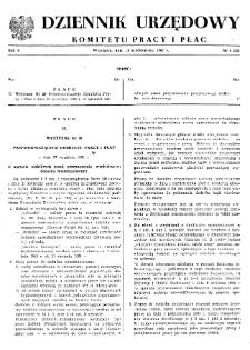 Dziennik Urzędowy Komitetu Pracy i Płac : 1965, nr 6