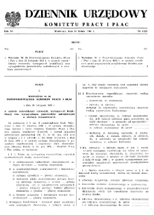Dziennik Urzędowy Komitetu Pracy i Płac : 1966, nr 1