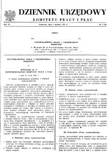 Dziennik Urzędowy Komitetu Pracy i Płac : 1966, nr 3