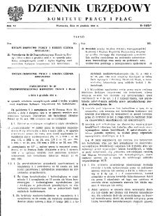 Dziennik Urzędowy Komitetu Pracy i Płac : 1966, nr 6